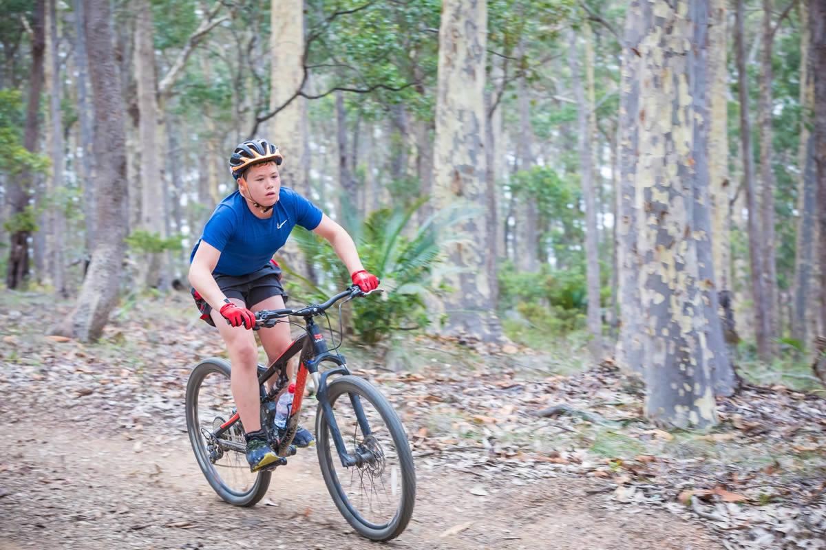 Downhill Riding Track